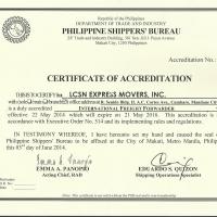 Certificate Of Accreditation(PSB)International