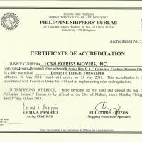 Certificate Of Accreditation(PSB)domestic